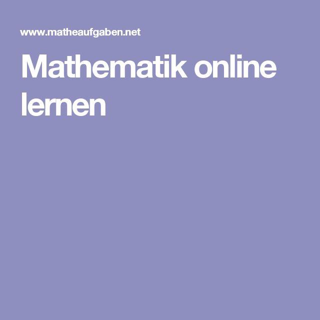 Mathematik online lernen