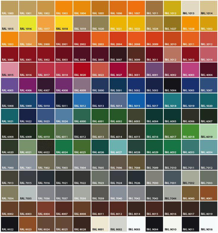 Die Besten 25+ Ral Farben Blau Ideen Auf Pinterest