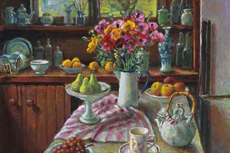 Ranunculus and Pears