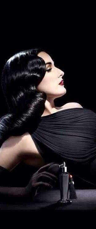 DITA VON TEESE   Parfume In A Black Bottle,..