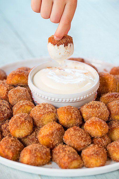 Tarçınlı tatlılara en çok yakışan: Labneli Pofuduk Sos