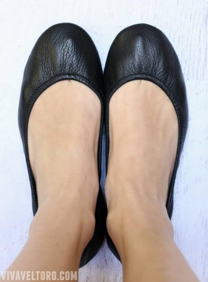 Tieks Black Shoes