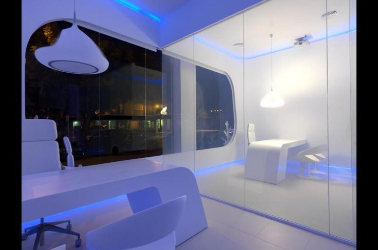 1000 images about futuristic office on pinterest ibm for Minimalist office interior design