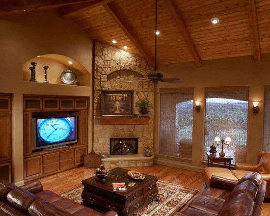 Fireplace Traditional Living Room With Conventional