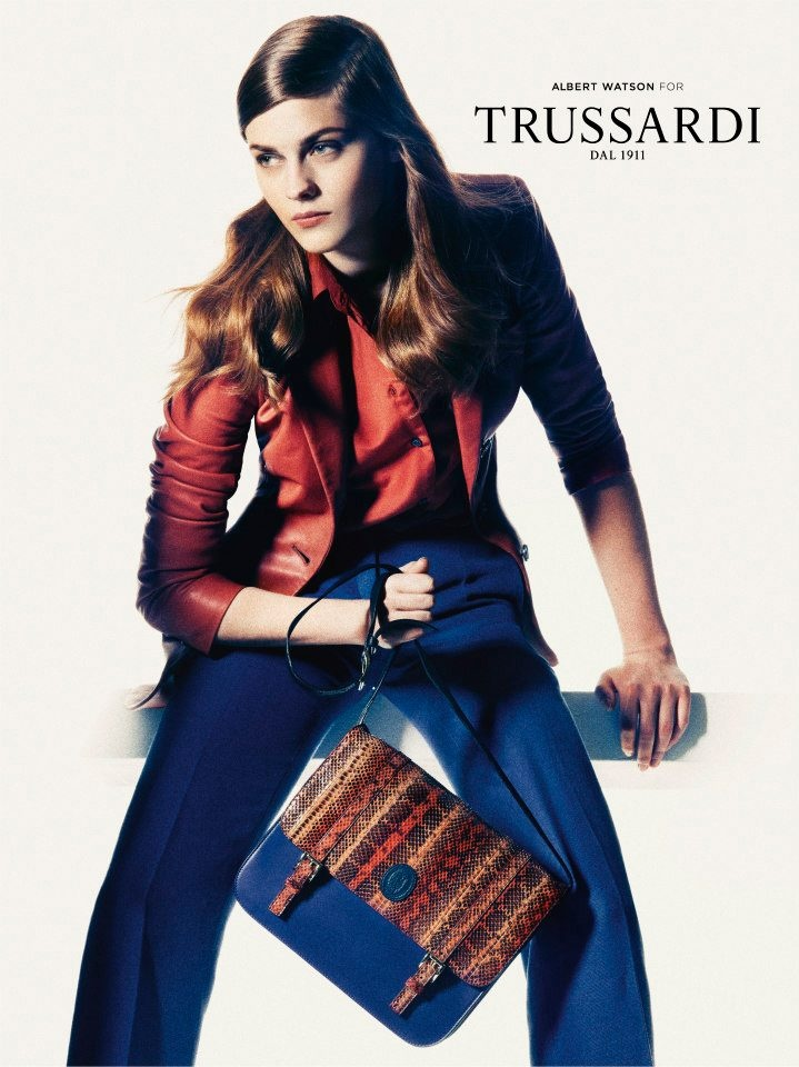 #Trussardi SS13 fashion #campaign @Trussardi