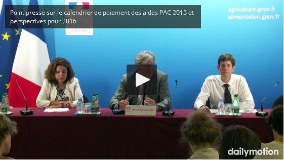 PAC 2016 - TELEPAC: Faites votre demande d'apport de trésorerie remboursable (ATR) sur les aides PAC 2016 - DRIAAF, site officiel du ministère de l'agriculture en Île-de-France