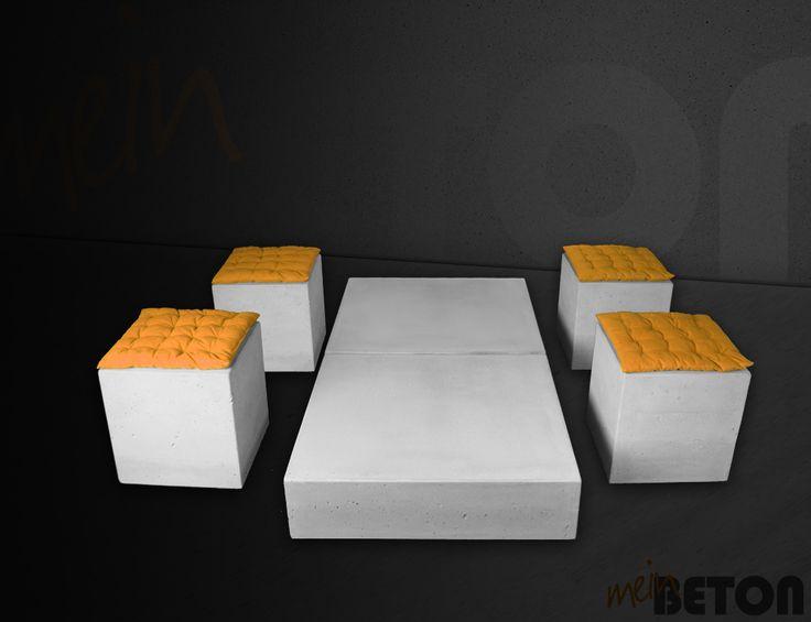 23 best Betonmöbel, Betontisch, Betontische, Tisch aus Beton - beton wohnzimmertisch