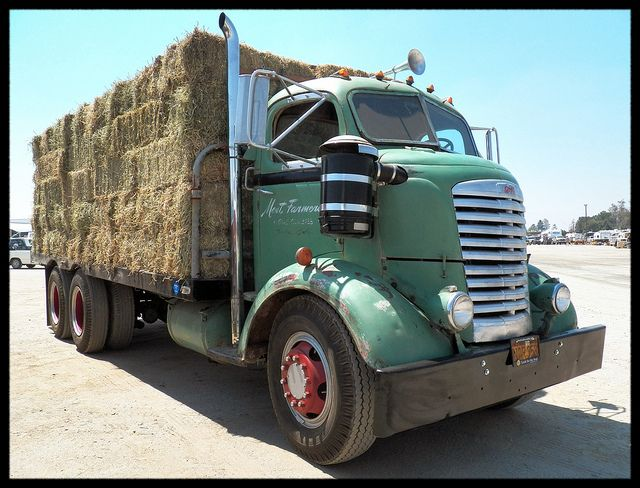 GMC COE Hay Hauler by Dusty_73, via Flickr