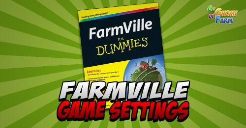 FarmVille Game Settings  Alcune impostazioni di FV che dovreste conoscere e che vanno controllate soprattutto se lamentate di non avere il Feed Panel sotto la farm!  Per andare inFarmVille Game Settings scorrete la farm e sotto sotto trovate un menu orizzontale Settings è la terzultima voce:  Ecco la finestra:  Community Friends  In pratica possiamo aggiungere come vicini delle persone che giocano a FarmVille che sono amiche di vostri amici che giocanoinsomma vi suggerirà di aggiungere ai…