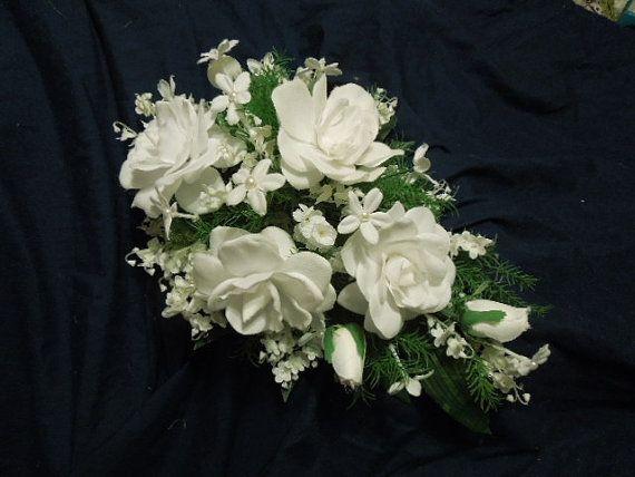 Stephanotis Pearls Gardenia Lily of the Valley by FantasyWedding