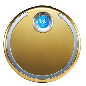 BMI Round Bathroom Electronic Scale LCD Backlight Body Fat Diet Health Accurate Weight Balance
