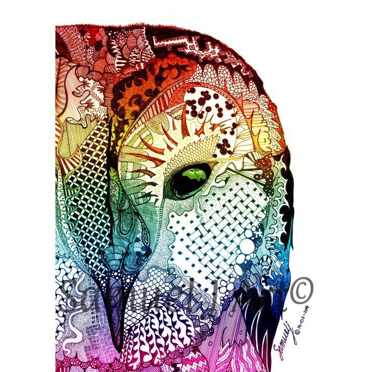 Ancient Eye - Multi-Colour