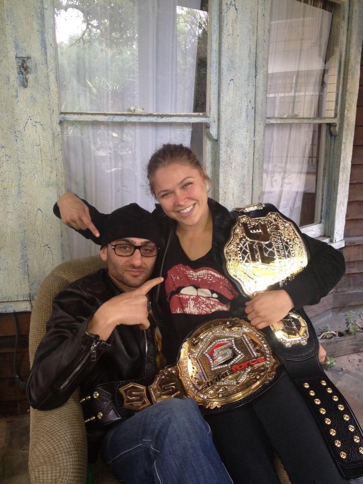 PHOTOS: Edmond Tarverdyan- MMA Female Champ Ronda Rousey's Trainer (Bio, Wiki)