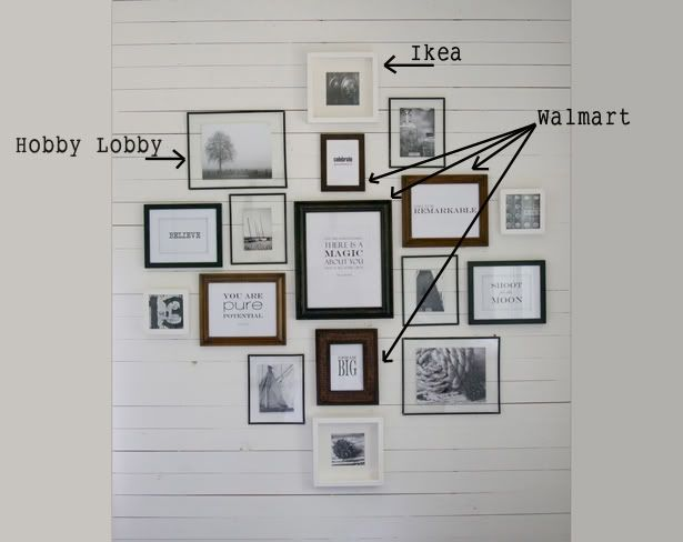 79 best Wall Gallery & Portrait Display Ideas images on Pinterest ...
