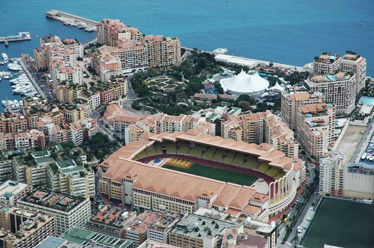 Stade Louis II, Mónaco, Francia.