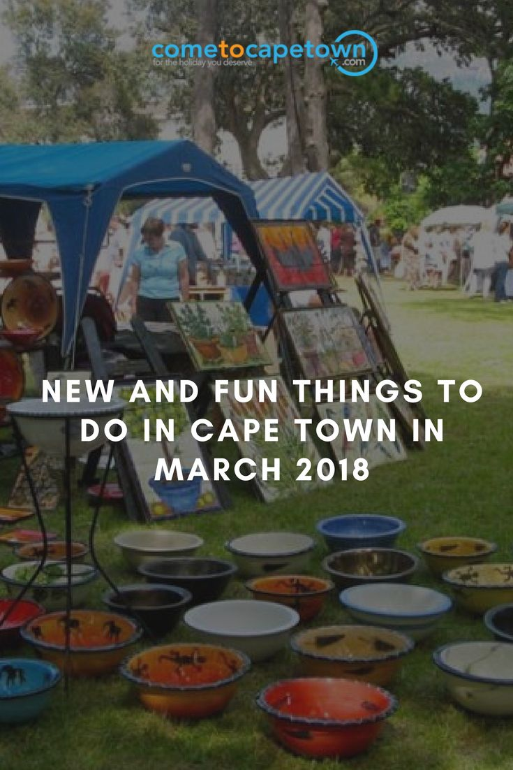 Cape Town offers plenty of both indoor and outdoor activities to choose from. Let's take a look at some of the most fun and inspiring things to do in Cape Town in March 2018.