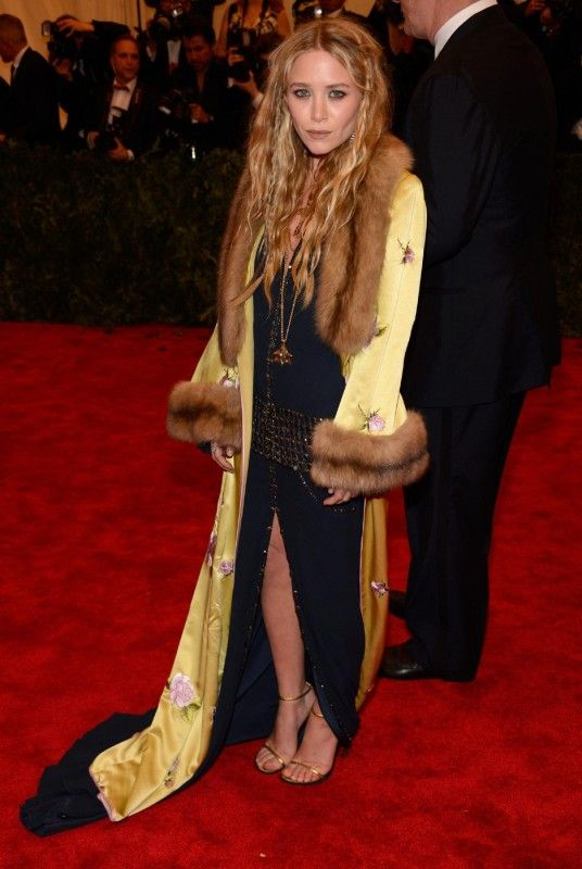 Ashley Olsen  2013 MET Gala May 6 2013