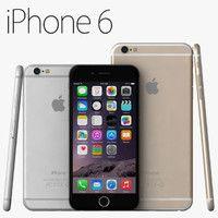 apple iphone 6 iphone6 3d model