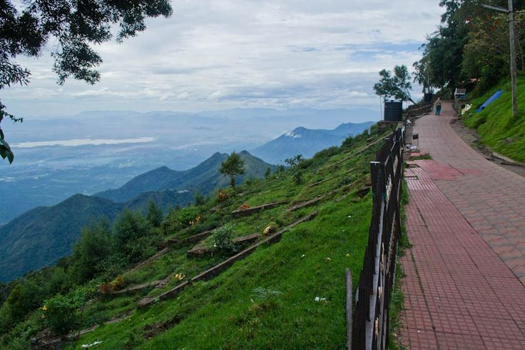 View of Coakers Walk Kodaikanal