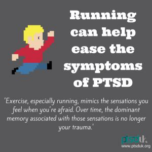 Running can help ease symptoms of PTSD | PTSD UK | Post Traumatic Stress Disorder