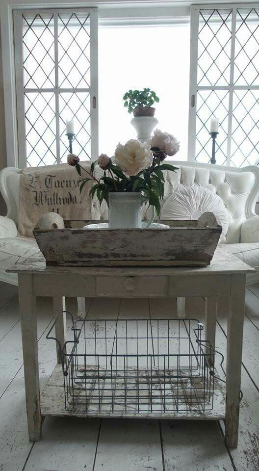 French Shabby Chic Decorating Ideas - via Architecture Art Designs