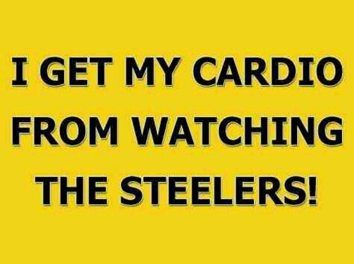 Steelers. Well just on Sunday or Monday night it depends on the steelers calendar