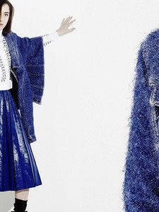Le travail de la maille par Aviu #LeFashionPost #Webzine #WilliamArlotti #Interview #Tranoi #PFW16 #Italy #Mode #Fashion