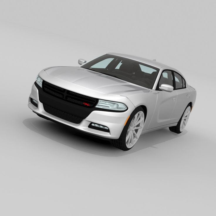 3Ds Max Dodge Charger 2015 - 3D Model