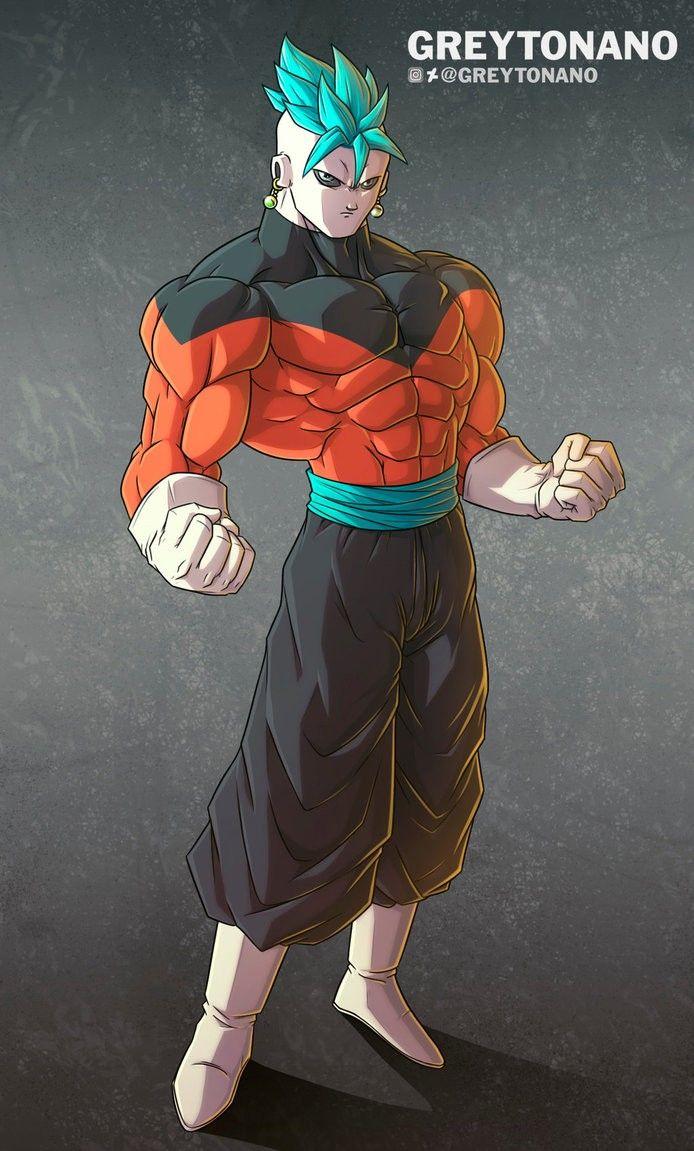 Goku Y Jiren Fusion Potara Anime Manga