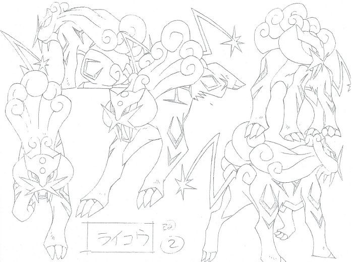 Pokemon Production Art! ポケットモンスターアニメ 設定稿・製作用資料・絵コンテ
