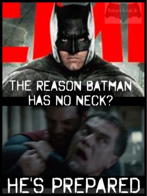 Funniest Batman v Superman meme I've seen so far!!!