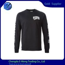 Custom Made Black Long Sleeves Printed Brand Man  best seller follow this link http://shopingayo.space