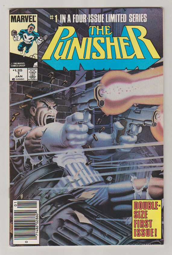 trail running shoes asics Punisher Vol 1 1 Comic Book   VF NM  January by RubbersuitStudios  punisher  comicbooks