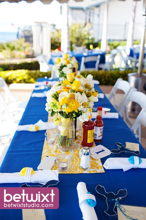 29 best images about royal blue and yellow weddings on