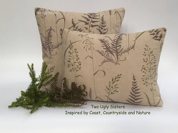 Fern Print Cushion Floral Print Cushion Cover Sister Birthday