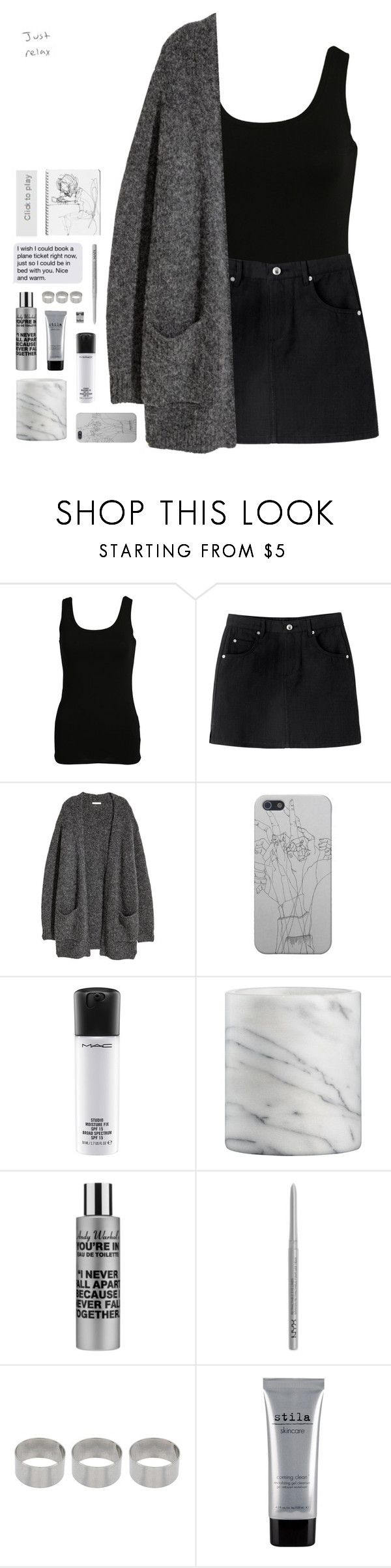 """1340"" by glitterals ❤ liked on Polyvore featuring Vila Milano, MAC Cosmetics, Crate and Barrel, Comme des Garçons, NYX, ASOS, Stila and Børn"