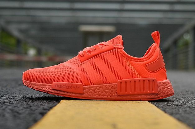 36213e5354b39 2017 Popular Running Shoes Adidas NMD R1 SOLAR RED SOLAR RED SOLAR RED  S31507