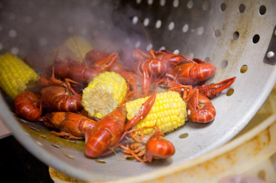 Crawfish season... second, only to rodeo season. As a born again Texan, I have learned to LOVE the crawfish boil!