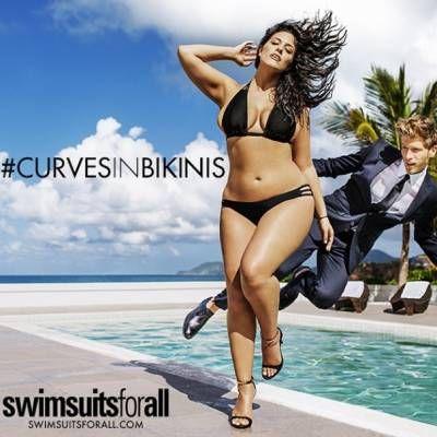 image for Ashley Graham, primera modelo talla grande para Sports Illustrated (FOTOS Y VIDEO)