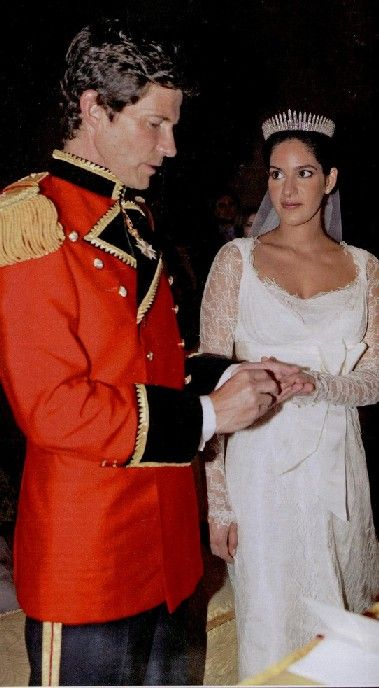On July 2nd, 2005 archduke Maximilian of Austria got married to Ms. Maya Askari in Rome