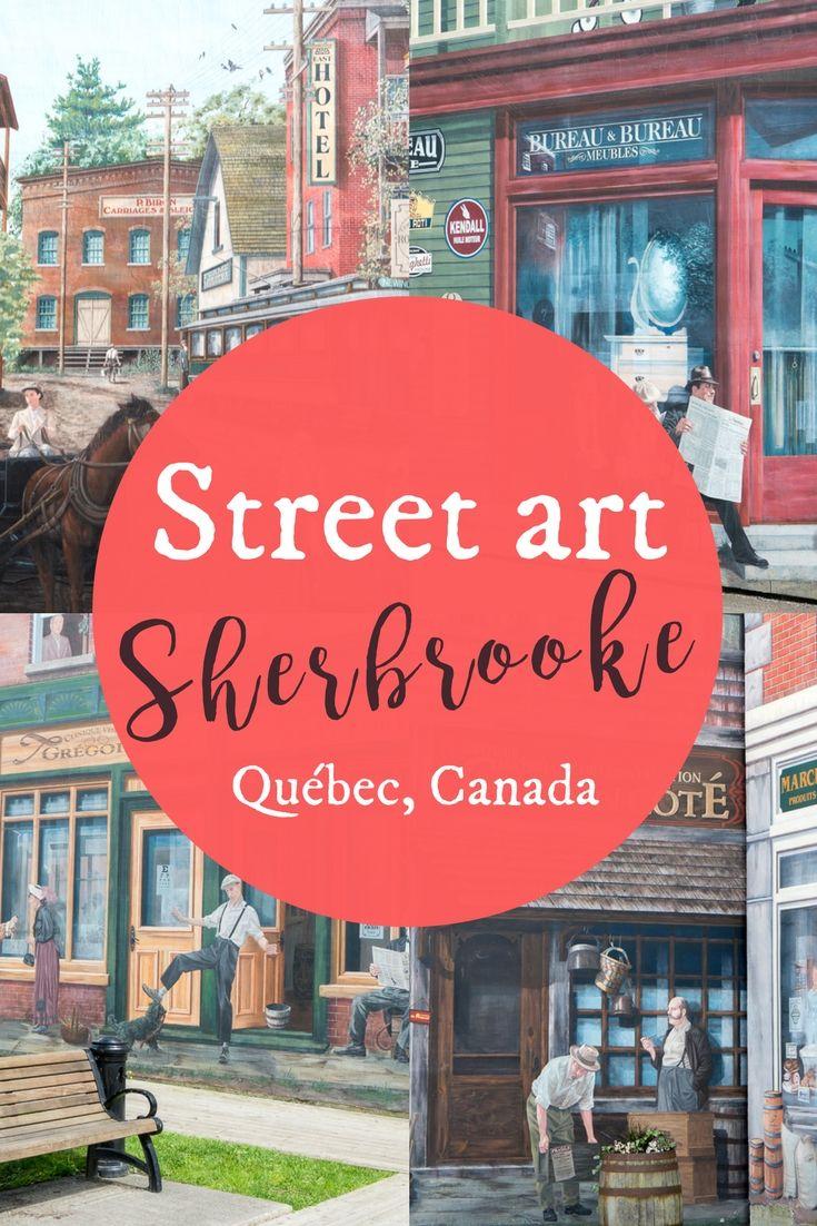 Murales De Sherbrooke Le Street Art Prend Vie Street Art Parement Mural Et Art De Rue