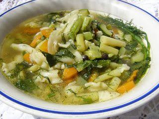 W Mojej Kuchni Lubię.. : warzywna lekka zupa z makaronem...