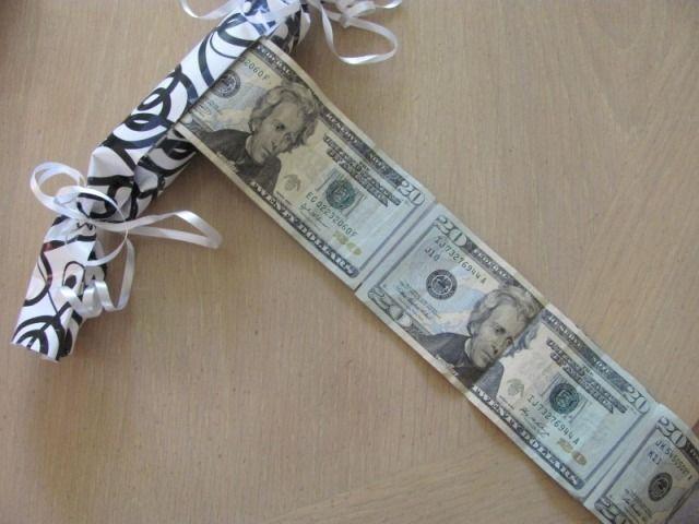 Как оригинально подарить деньги | Денежный подарок ...