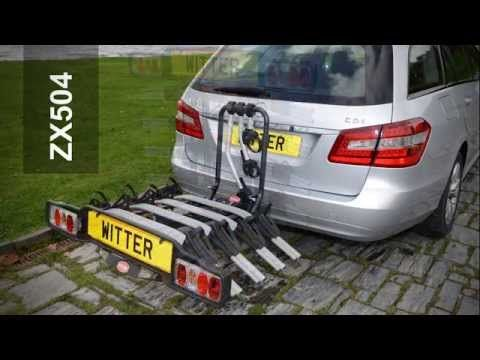 Witter ZX500 Cycle Carrier Range - YouTube