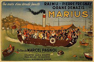 Albert Dubout > Marius, 1950