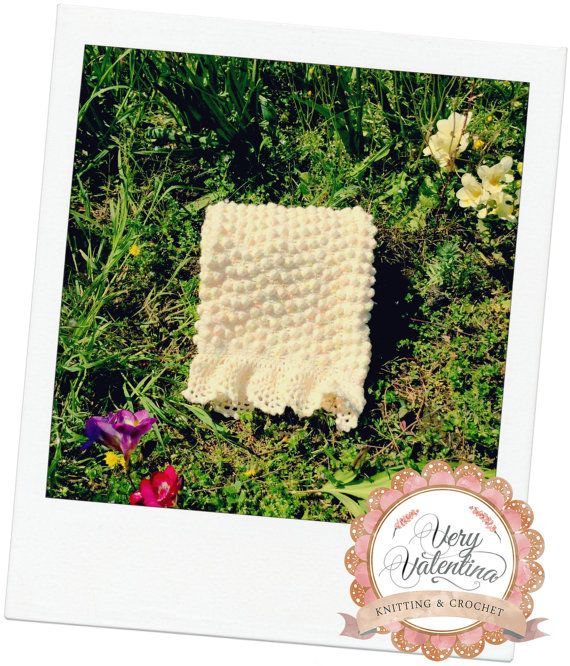 Crochet Baby Blanket, Coperta bimbo all'uncinetto