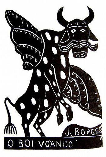 J. Borges. O boi voando