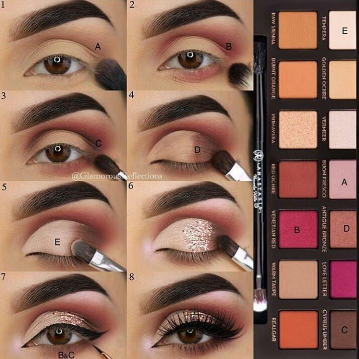 Tutorial Augen Make-up