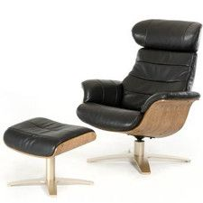 Divani Casa Charles Modern Leather Recliner and Ottoman  sc 1 st  Pinterest & Best 25+ Modern recliner chairs ideas on Pinterest | Modern ... islam-shia.org