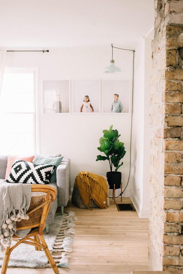 The lovely, relaxed home of Amber Friedel